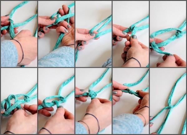 Collage Knoten